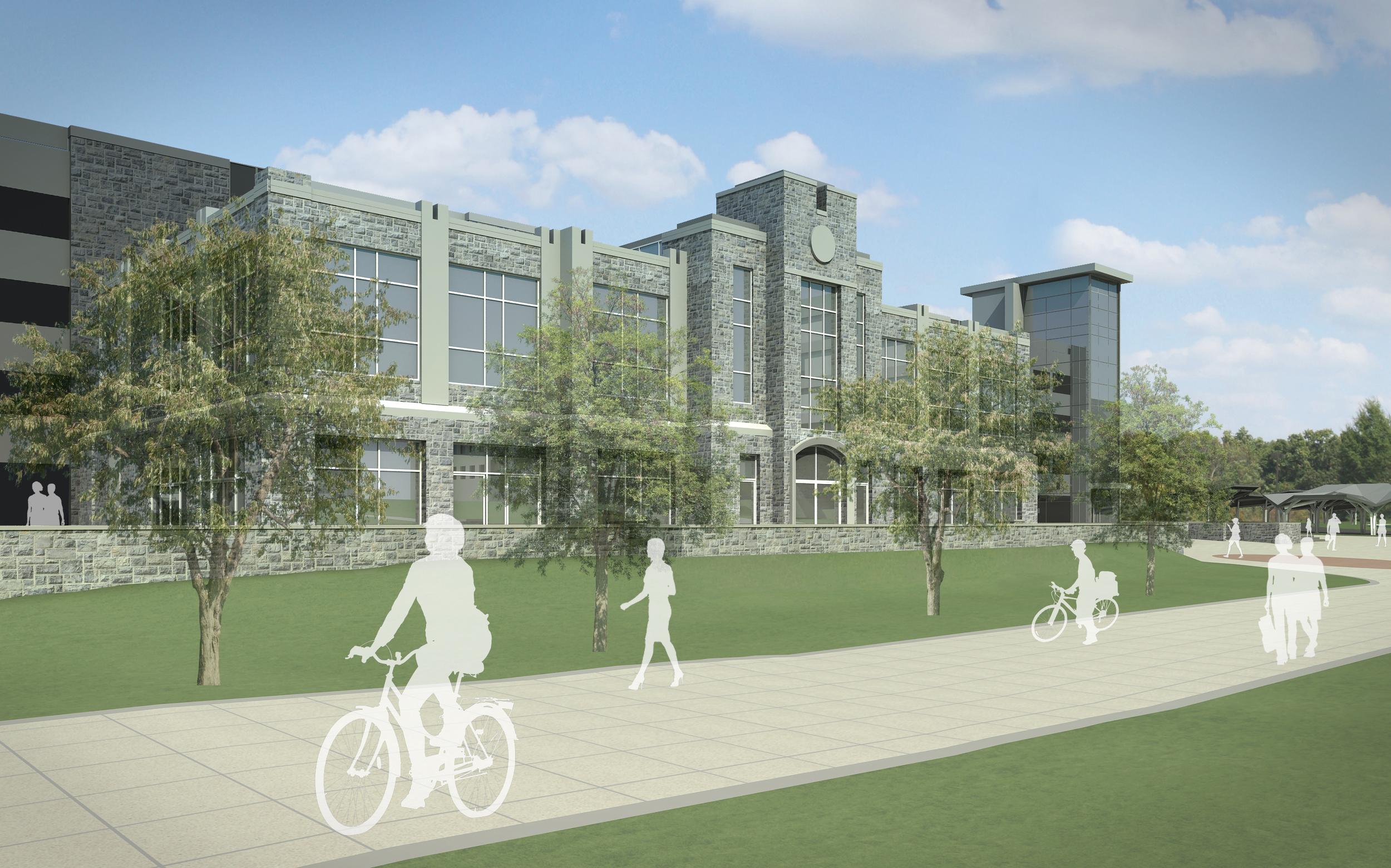 Blacksburg and Virginia Tech Mutli-Modal Transit Facility