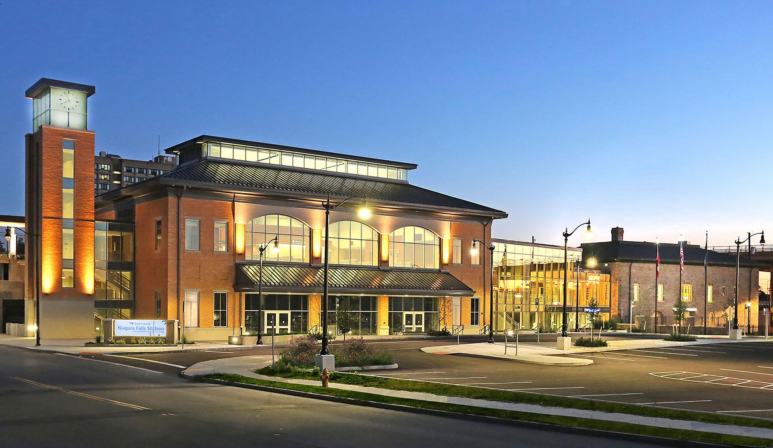 Niagara Falls Intermodal Transportation Center