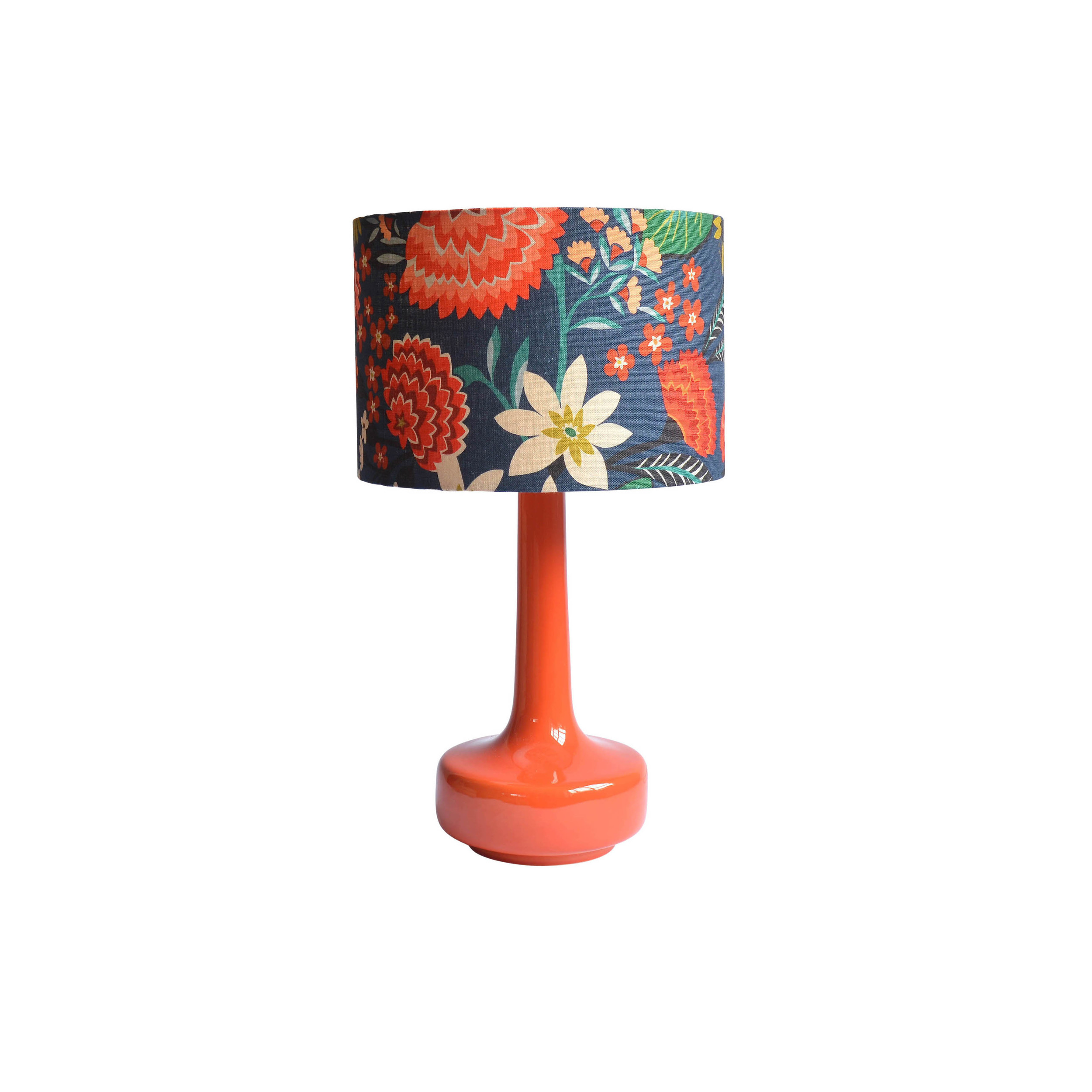 Carnation Print Lampshade for  Winter's Moon    © Brie Harrison 2015