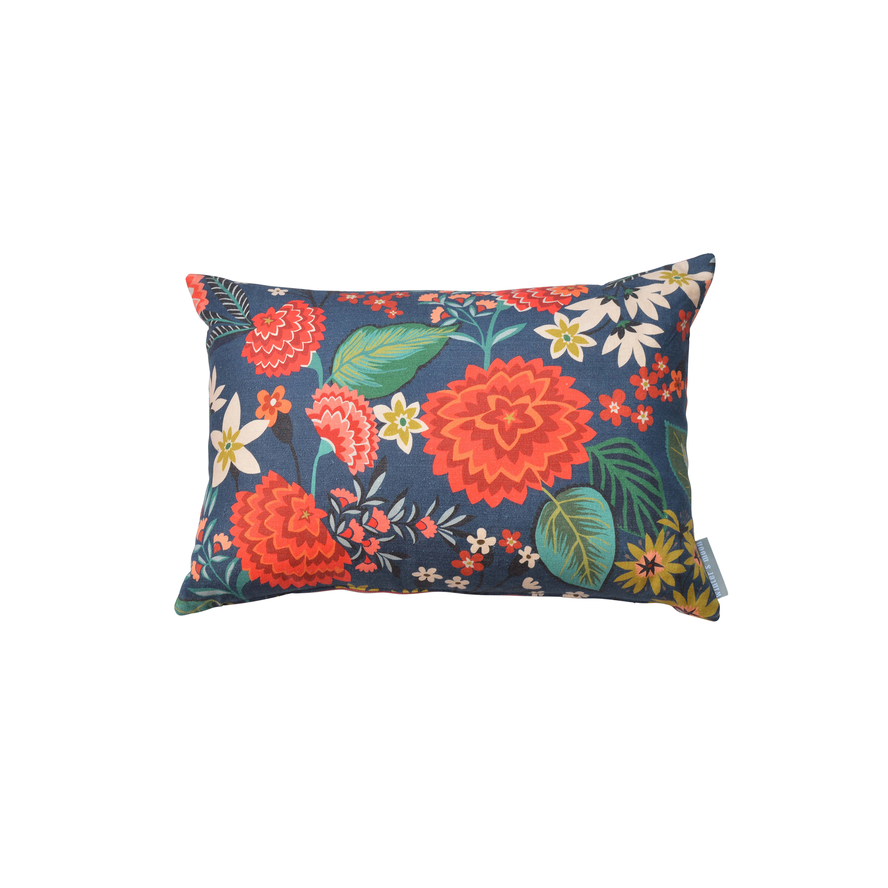 Carnation Fabric Cushion for  Winter's Moon    © Brie Harrison 2015