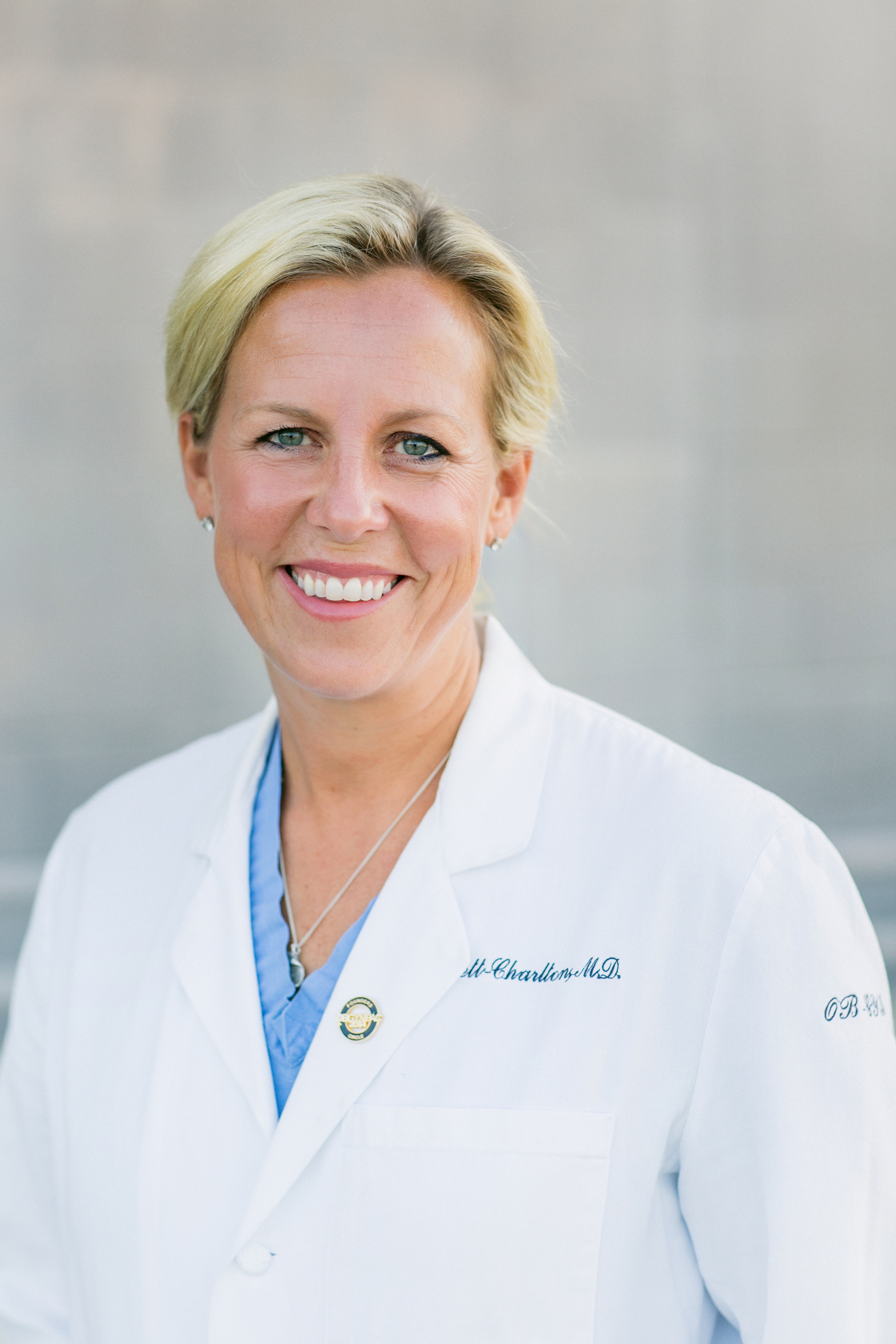 Dr. Coslett-Charlton specializes in gynecology, with an emphasis on minimally invasive surgery and  da Vinci Robotics.