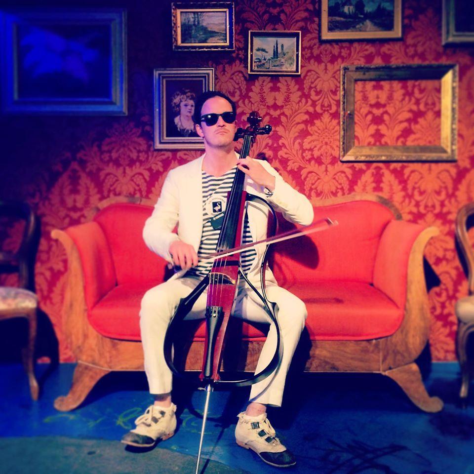 Classical Music Mutineer Brendan Jan Walsh on e-cello