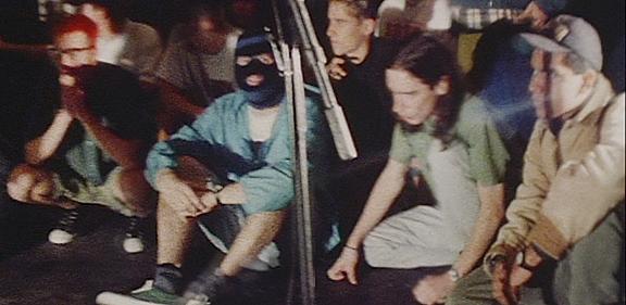 Tim & Darren (in the mask)