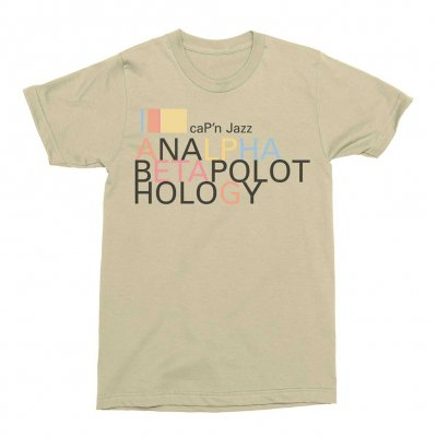 Analphabetapolothology Tee (Sand)