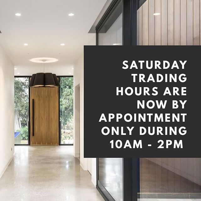 Please note our Saturday trading hours have changed to appointment only during the times of 10am - 2pm.  Please contact us on (08) 7080 1937 or email us at hello@loveconcrete.com.au to make an appointment.