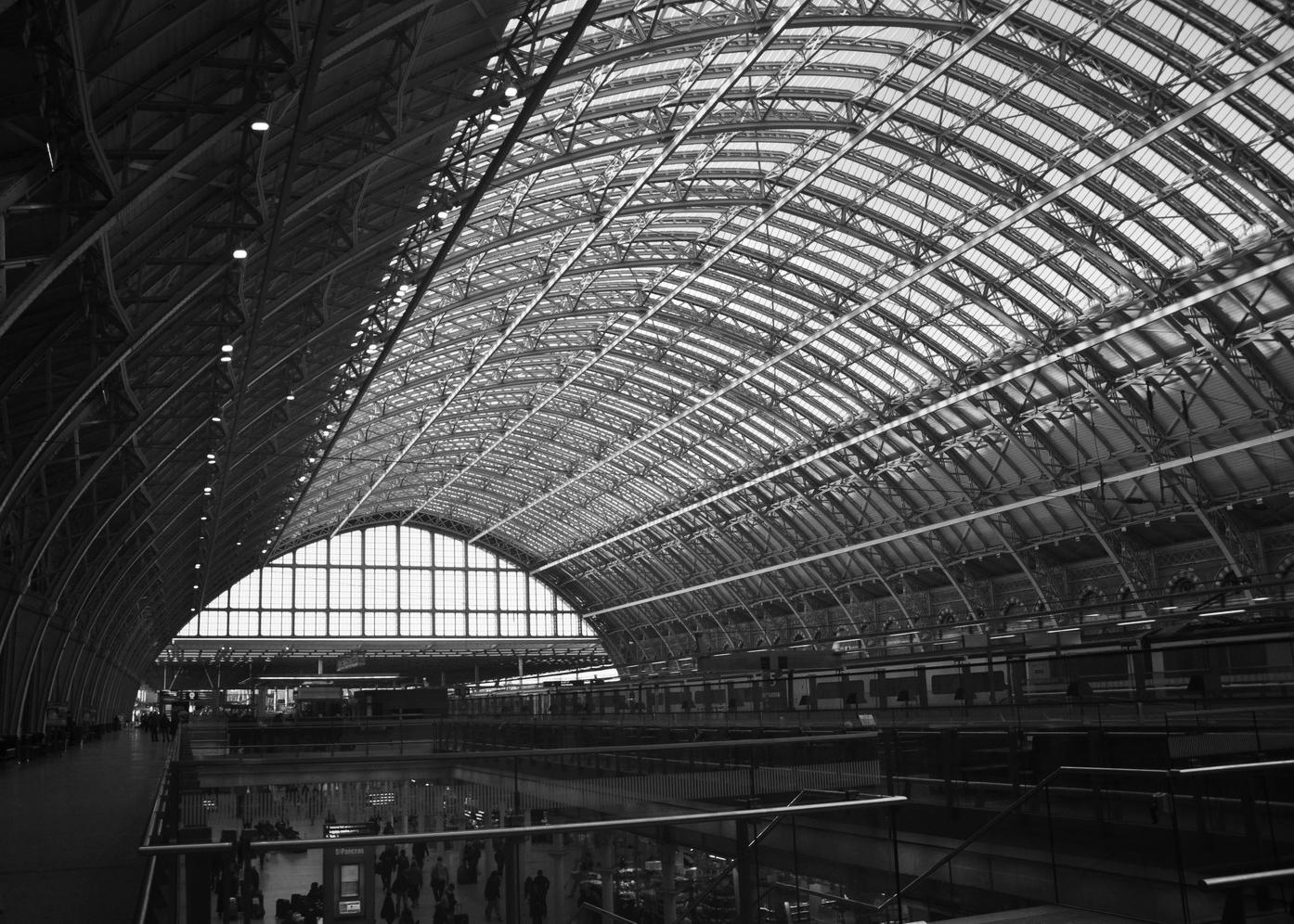 St Pancras Train Shed