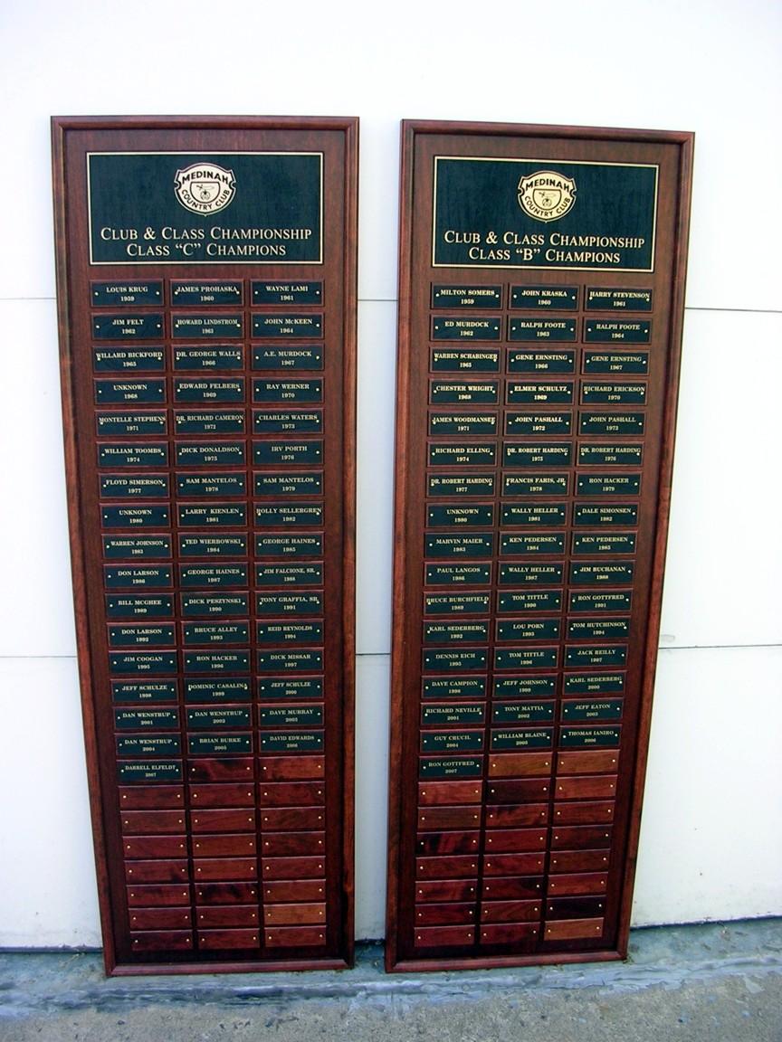 Club Championship Perpetual Plaques - Medinah - Large.jpg