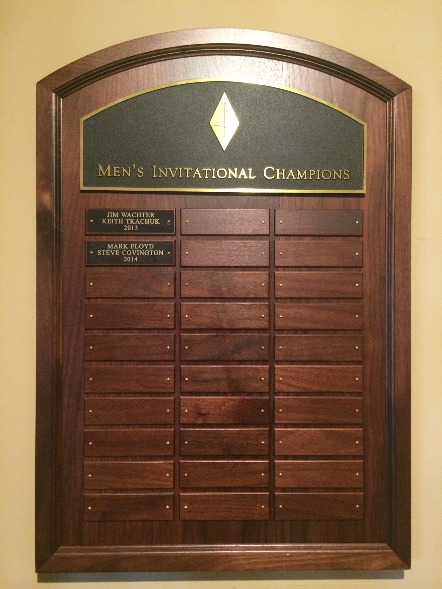 Tournament Plaques