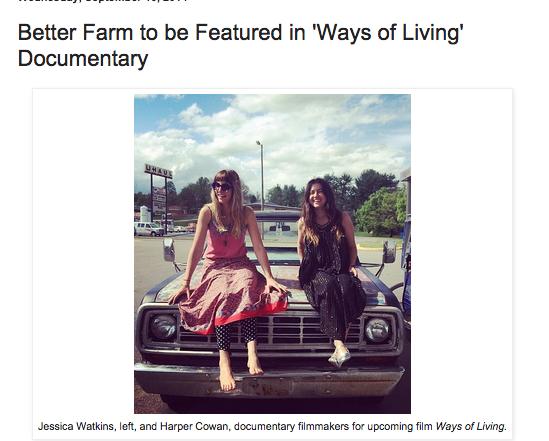 Better Farm Blog