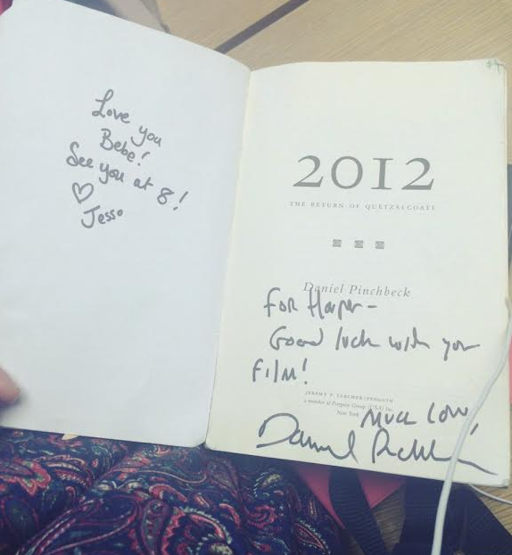 My copy of 2012 signed by two of my heroes!