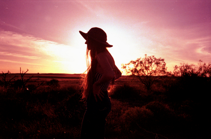Self Portrait in Marfa by Emily Rose Theobald