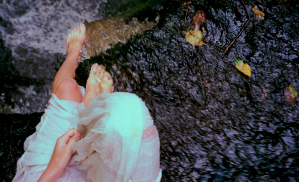 Self Portrait, Enders Falls CT, August 2015 photo by Emily Rose Theobald