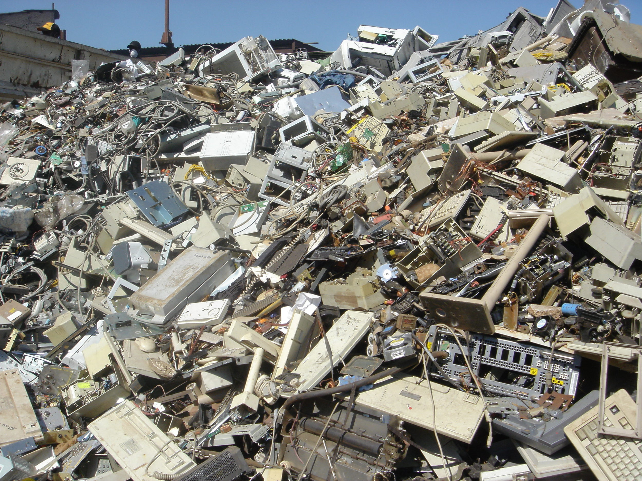 Don't wind up in the mobile technology landfill (image courtesy of  E Waste Guide )