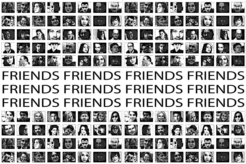 Social media friends