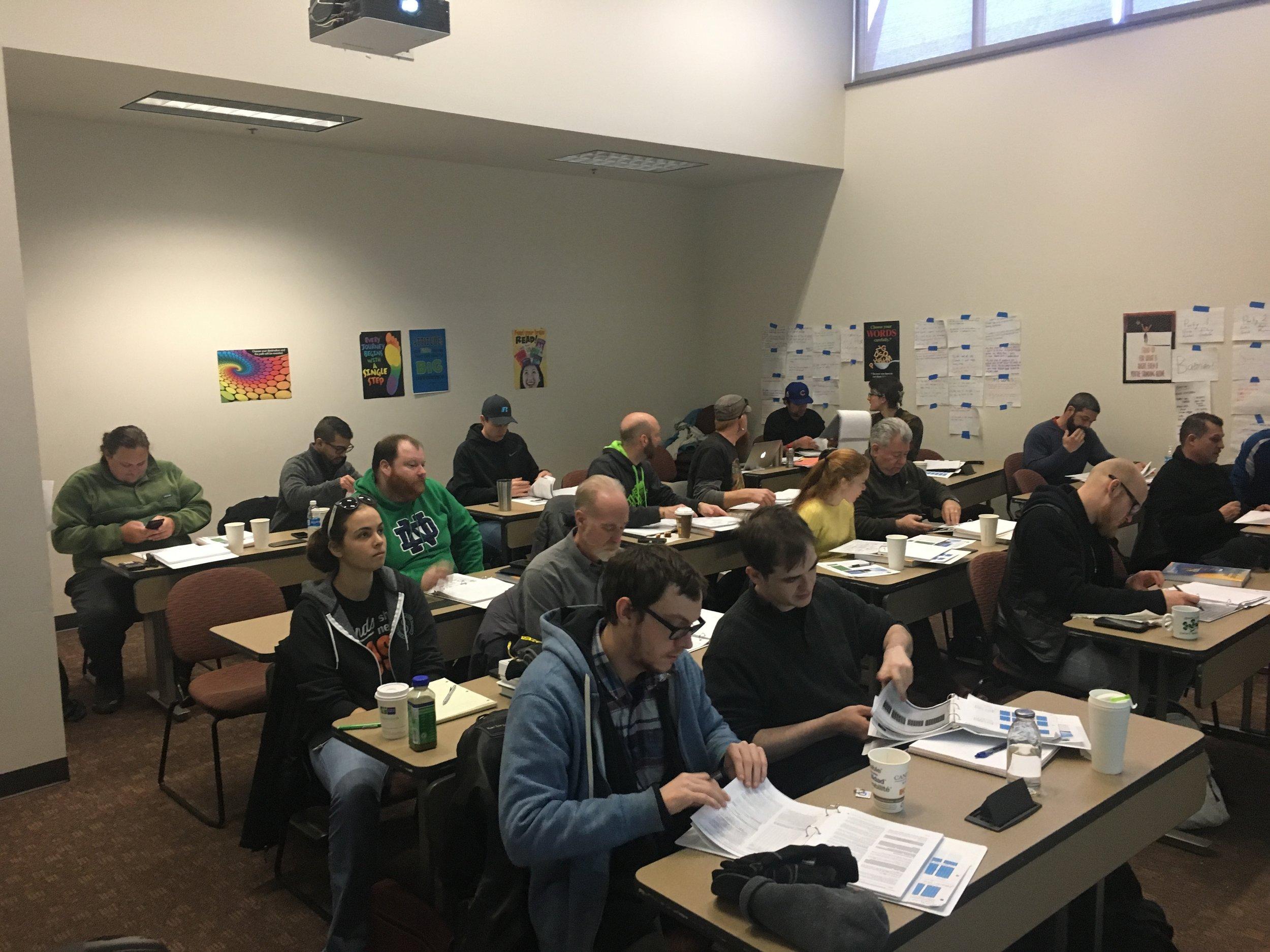 Spring 2017 Midwest Renewable Energy Association (MREA) Solar Training Academy Heartland College Bloomington, IL