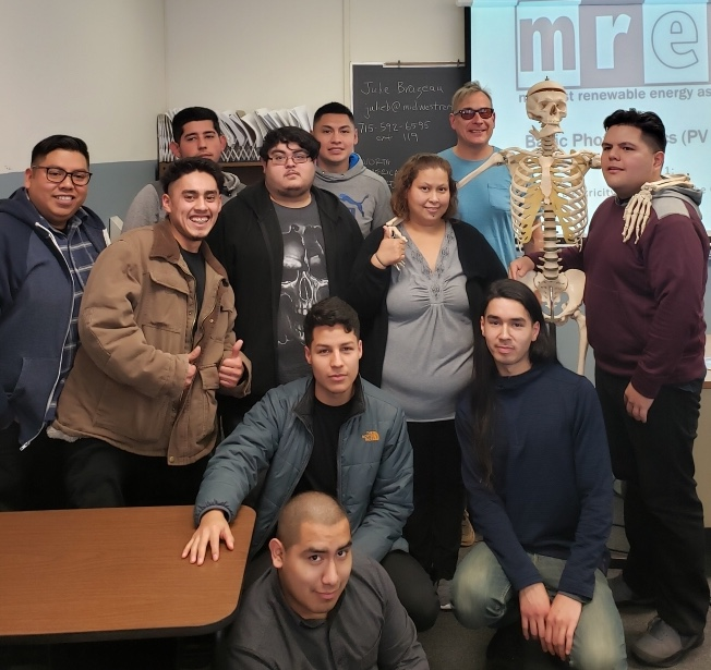 Fall 2018 Midwest Renewable Energy Association (MREA) Solar Training Academy, National Latino Education Institute, Chicago, IL