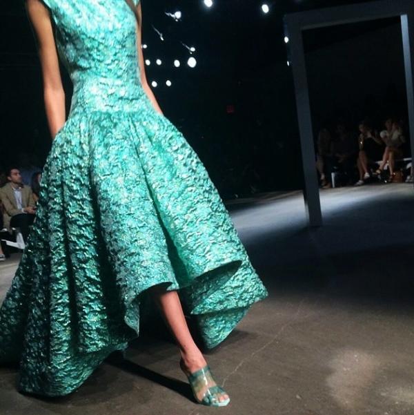 Emerald jacquards @csiriano  from @joshuaomarjohnson