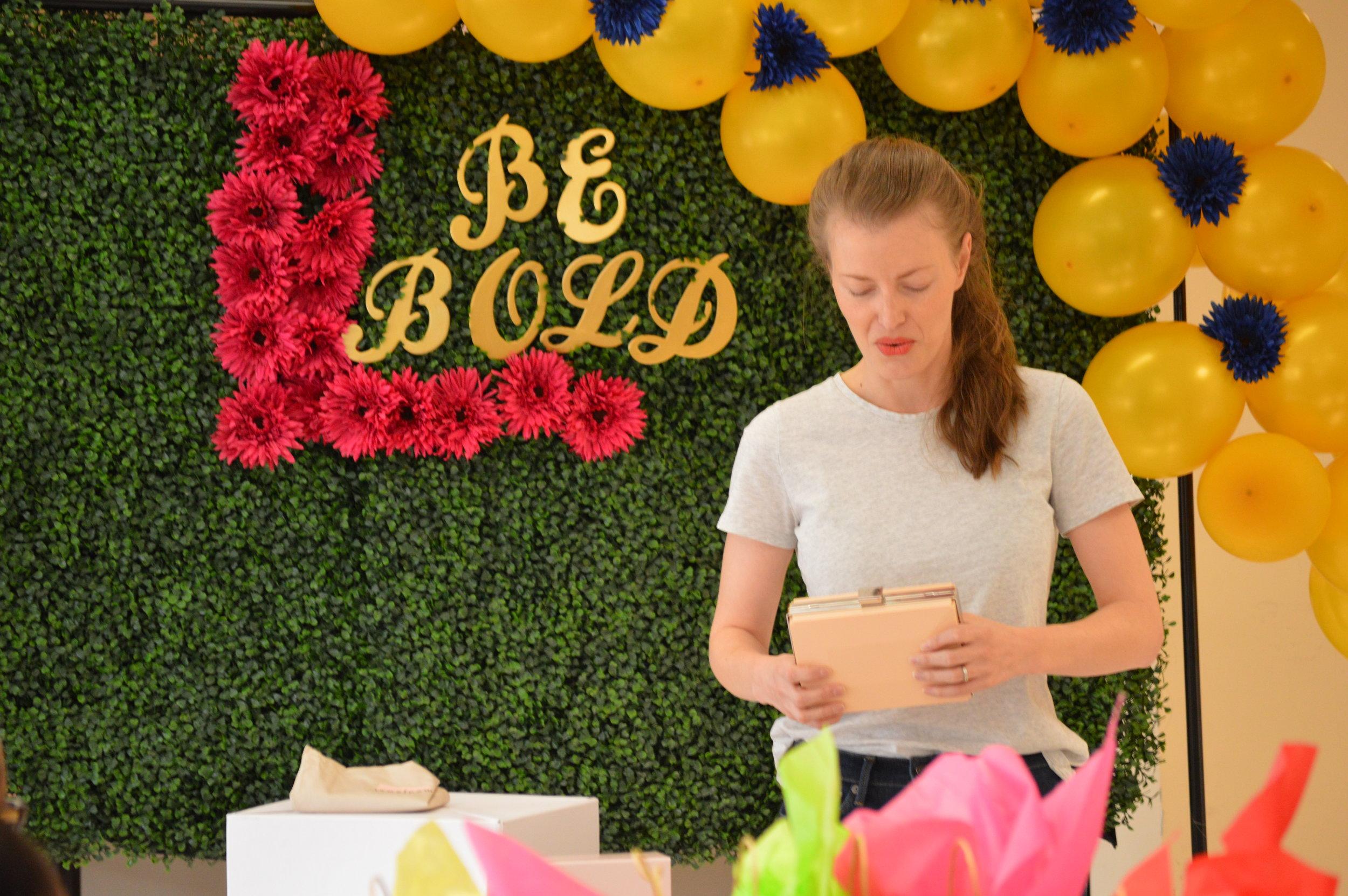 Eliana, CEO of Mod Jewel Handbags