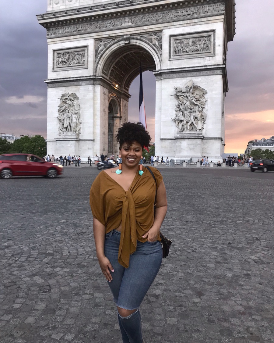 Arc de Triomphe, Never thought a Dominican girl like me would reach this magical city!!!