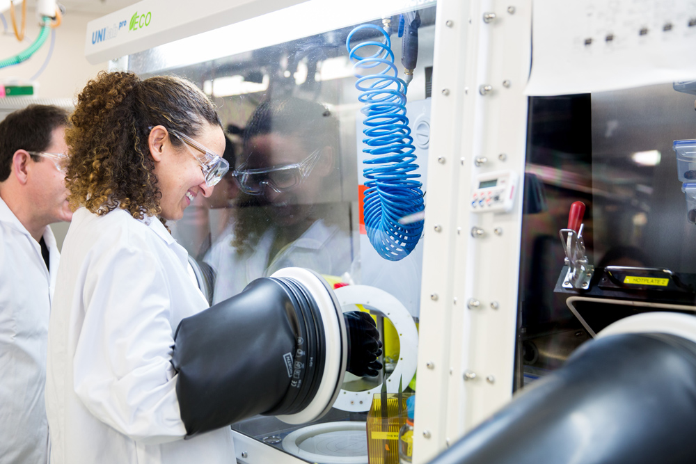 Oxford PV's perovskite solar cell research and development facility in Oxford, UK