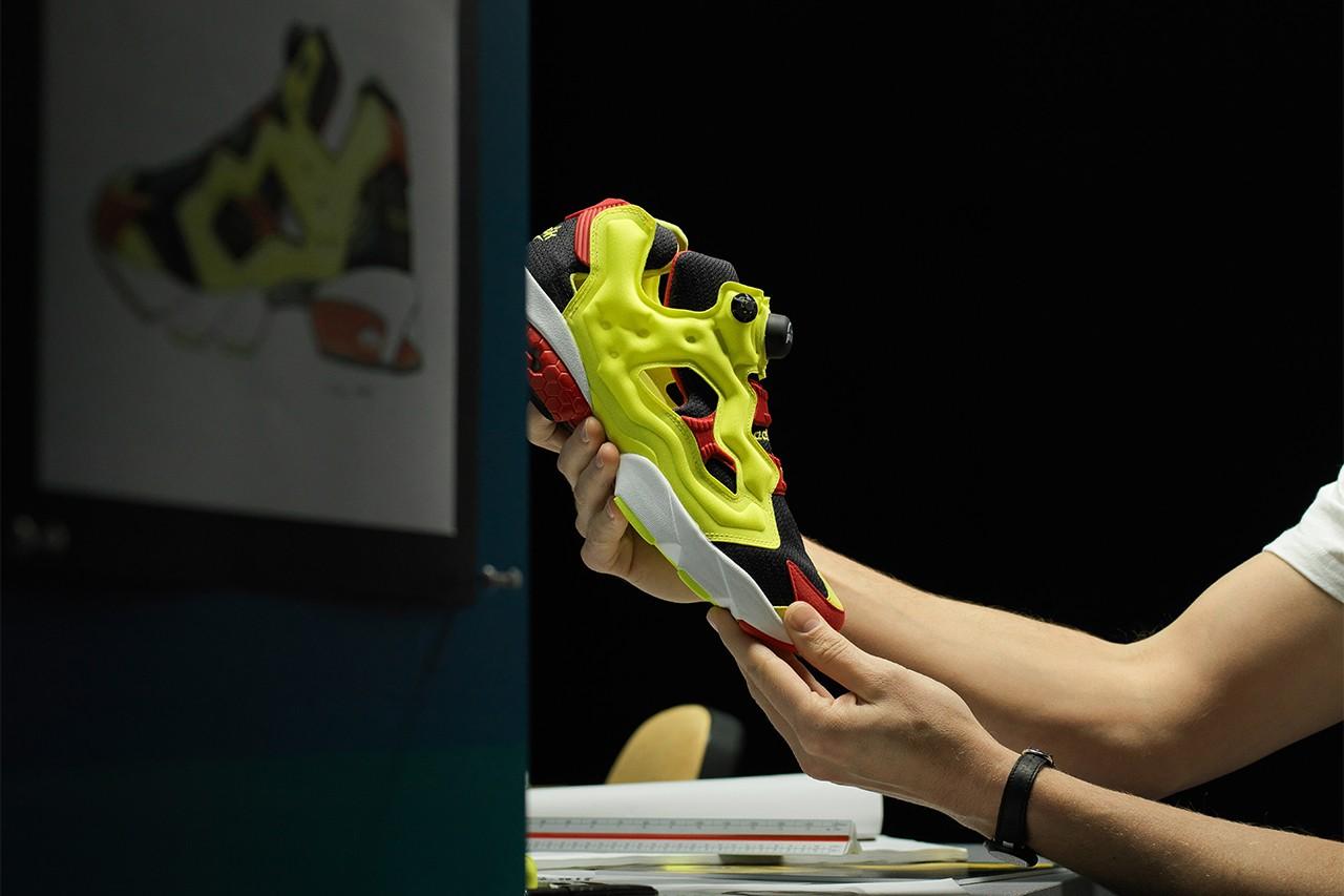reebok instapump fury anniversary fashion sneakers