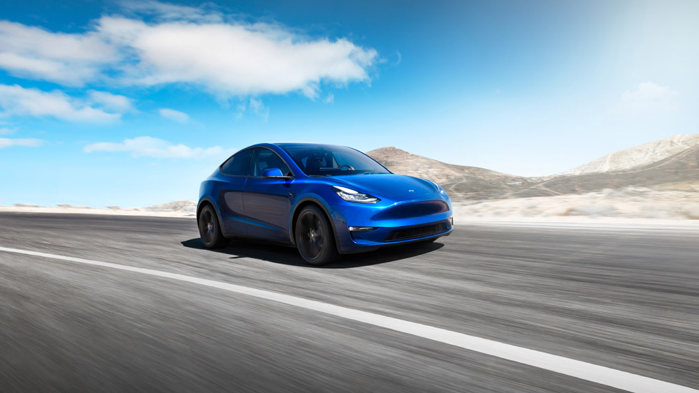 Tesla Model Y SUV Elon Musk Electric Car