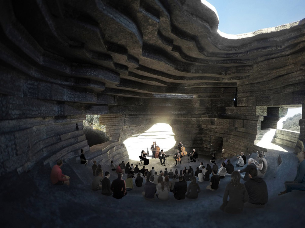 Chapel Sound By Open Architecture Concert Hall in China