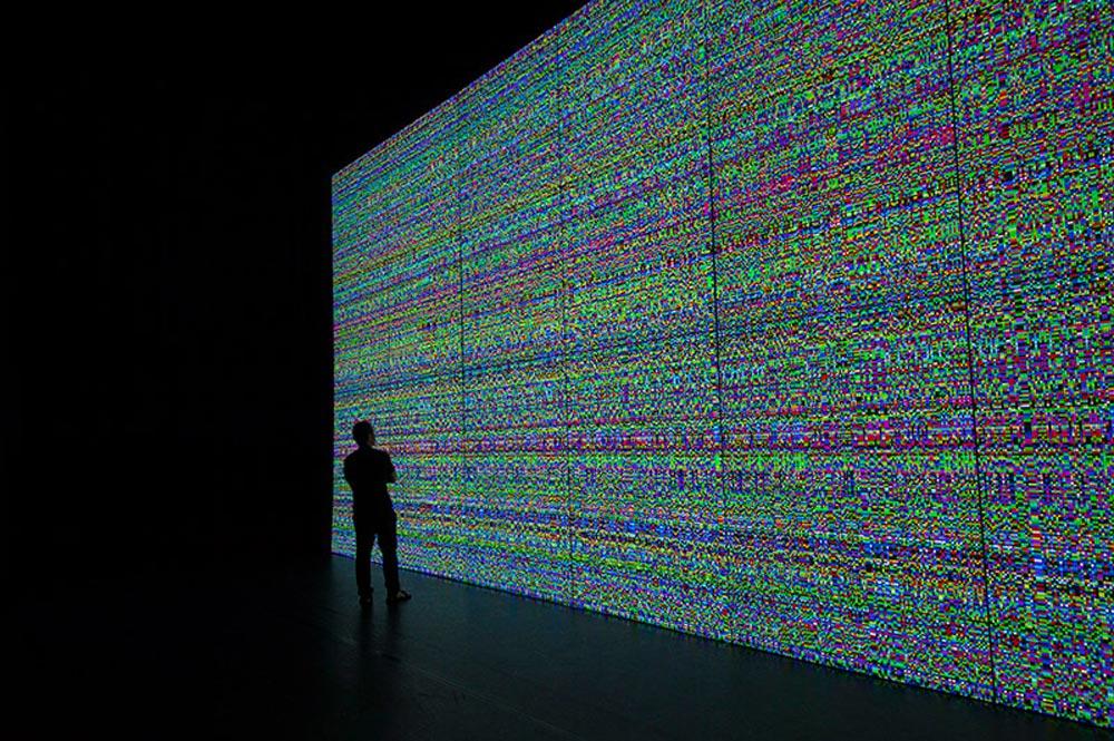 the indivisible ( prototype no.1 ), installation / ELEKTRA 2017, Usin C, Montreal, Canada / image courtesy of artist, © Norimichi Hirakawa