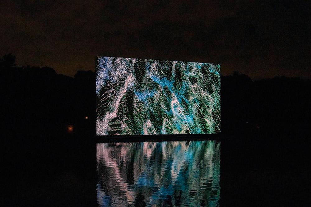 datum, audiovisual installation / 2016, Toyota Municipal Museum of Art, Toyota, Japan / image courtesy of artist, © Norimichi Hirakawa