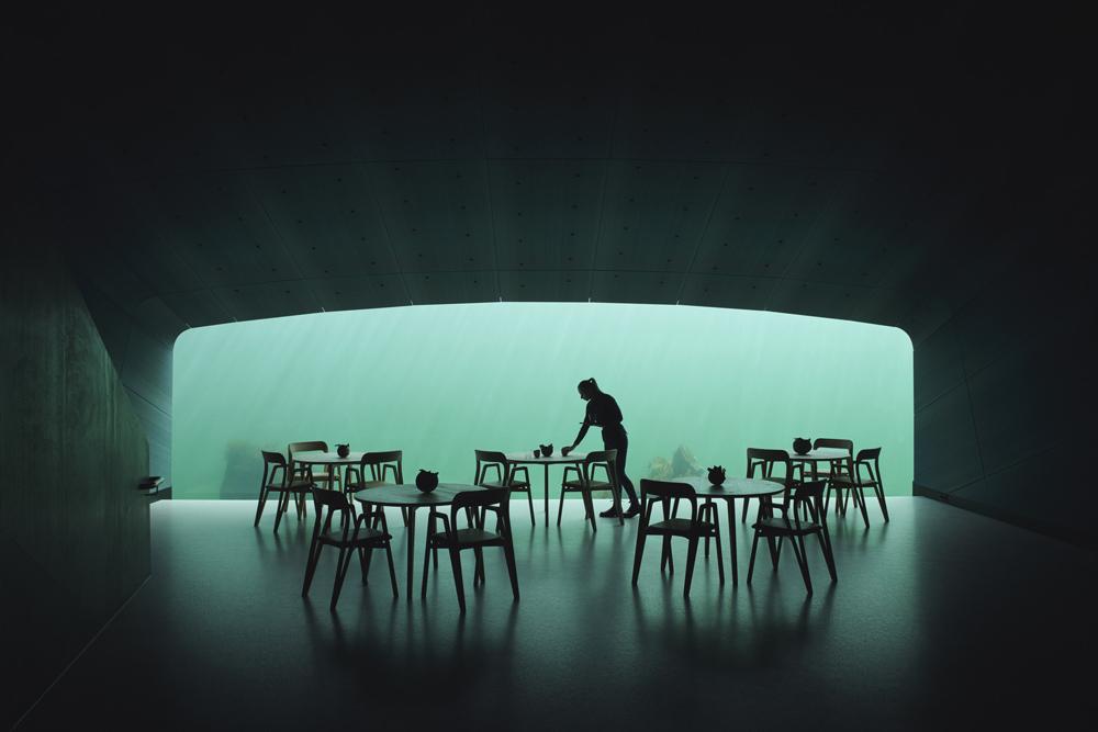 Snøhetta designs Europe's first underwater restaurant in Norway