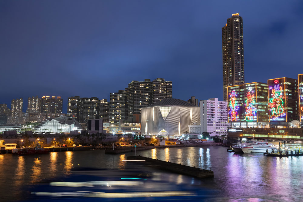 Revery Architecture Designs Hong Kong's West Kowloon Cultural District With Ronald Lu & Partners