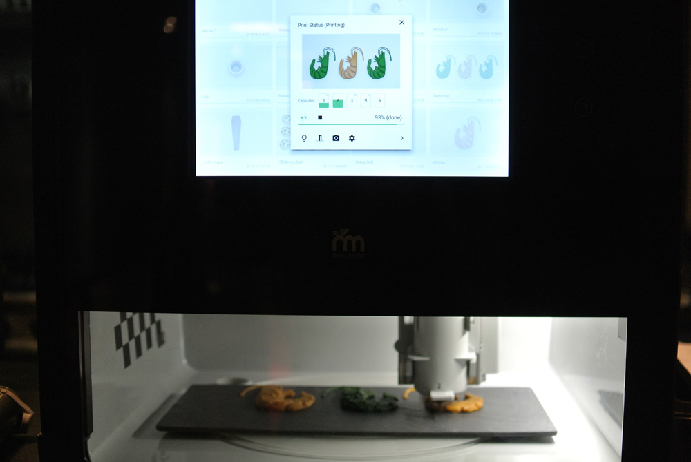 Foodini is a food printer