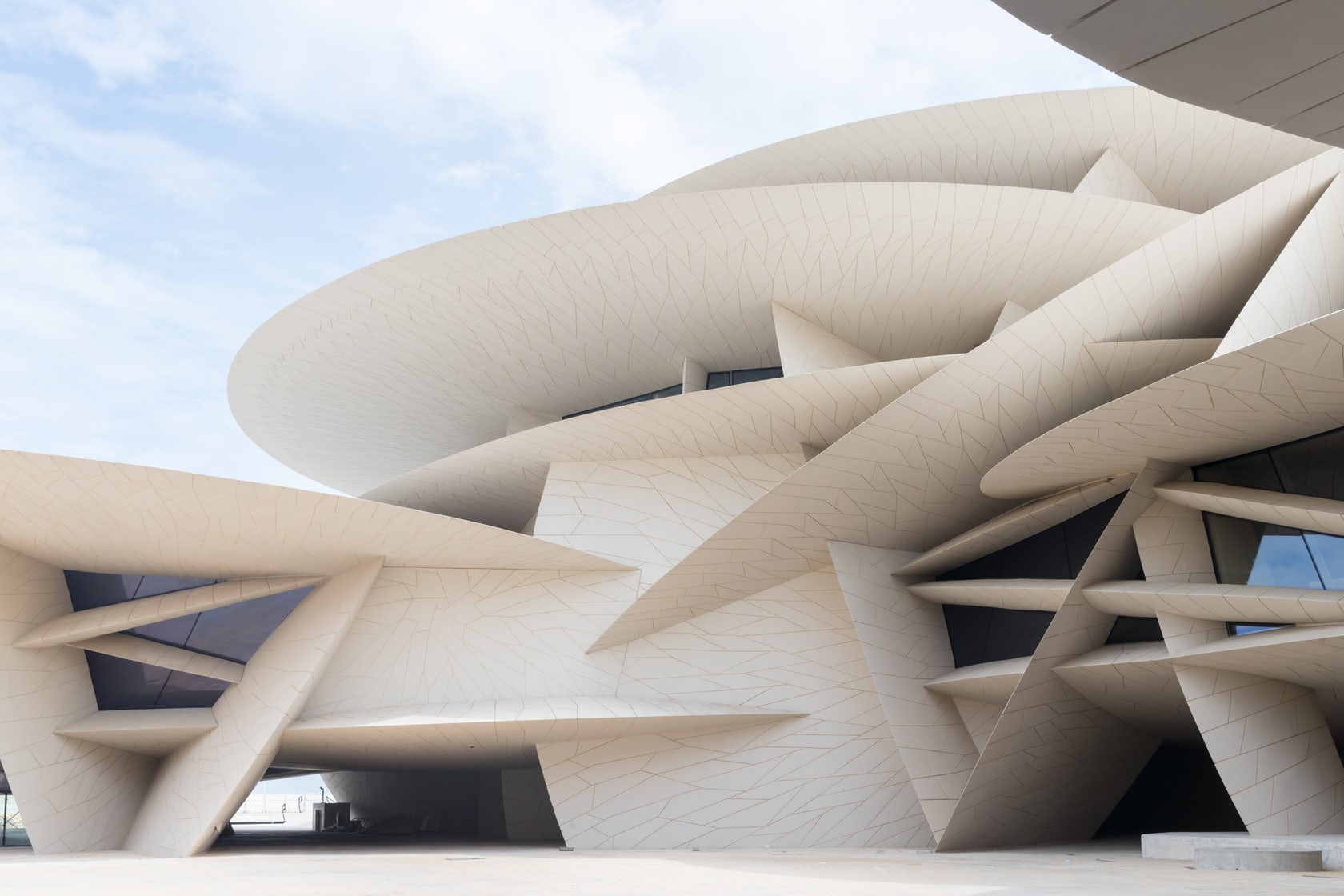 Jean Nouvel Presents National Museum Of Qatar in Doha