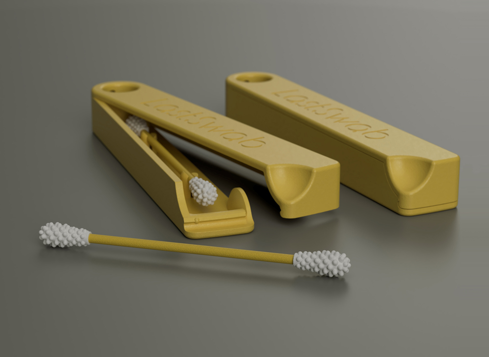 LastSwab: The World's First Reusable Cotton Swab Visual Atelier 8