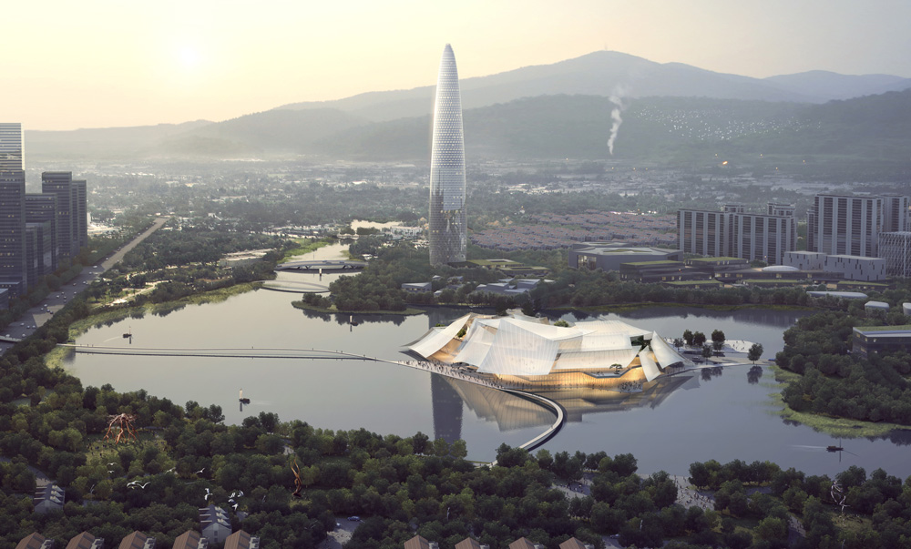 MAD Architects Yiwu Grand Theater