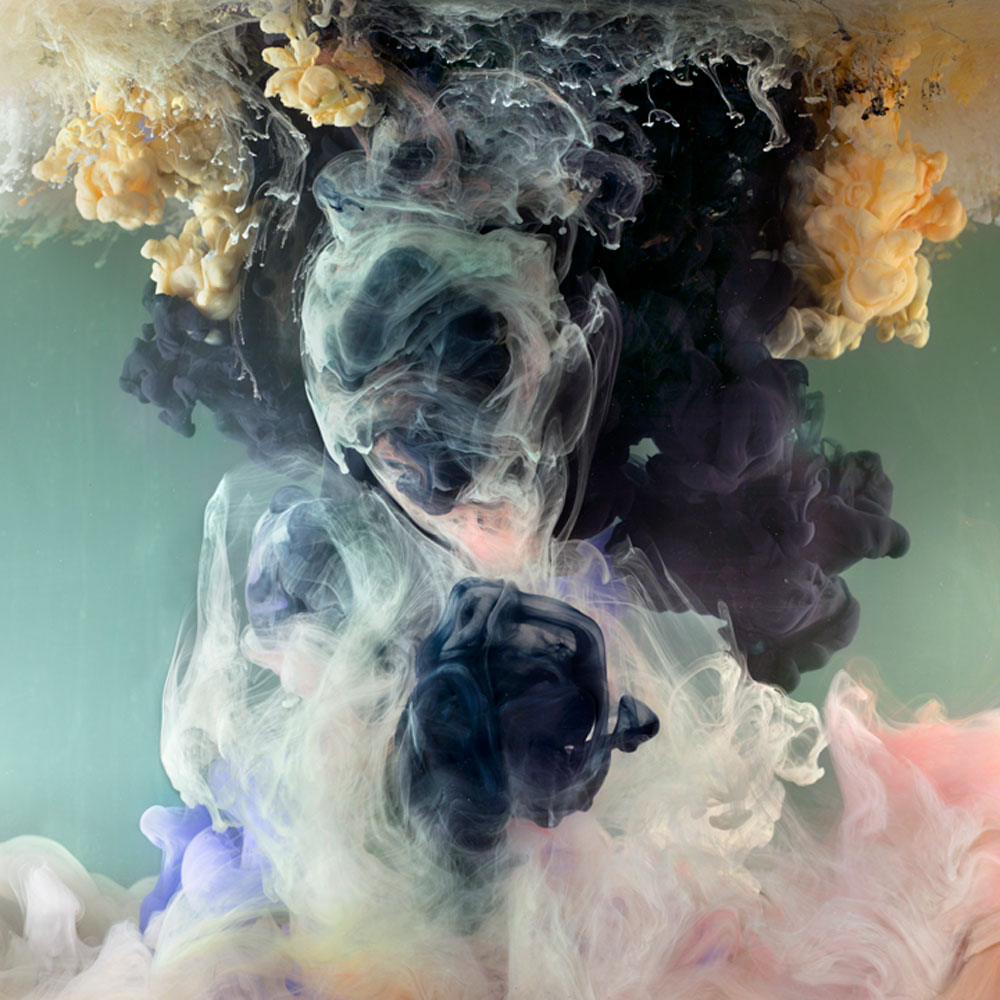 Kim Keever Materializes Dreams With Subaquatic Clouds Of Paint