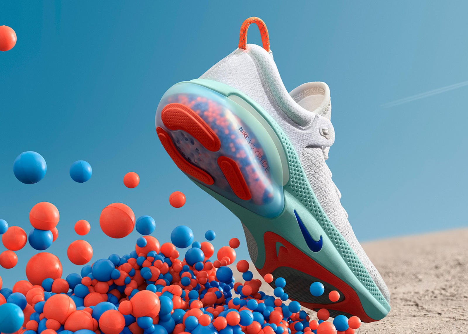 Nike Joyride Cushioning System Made Of Thousands Of TPE Beads