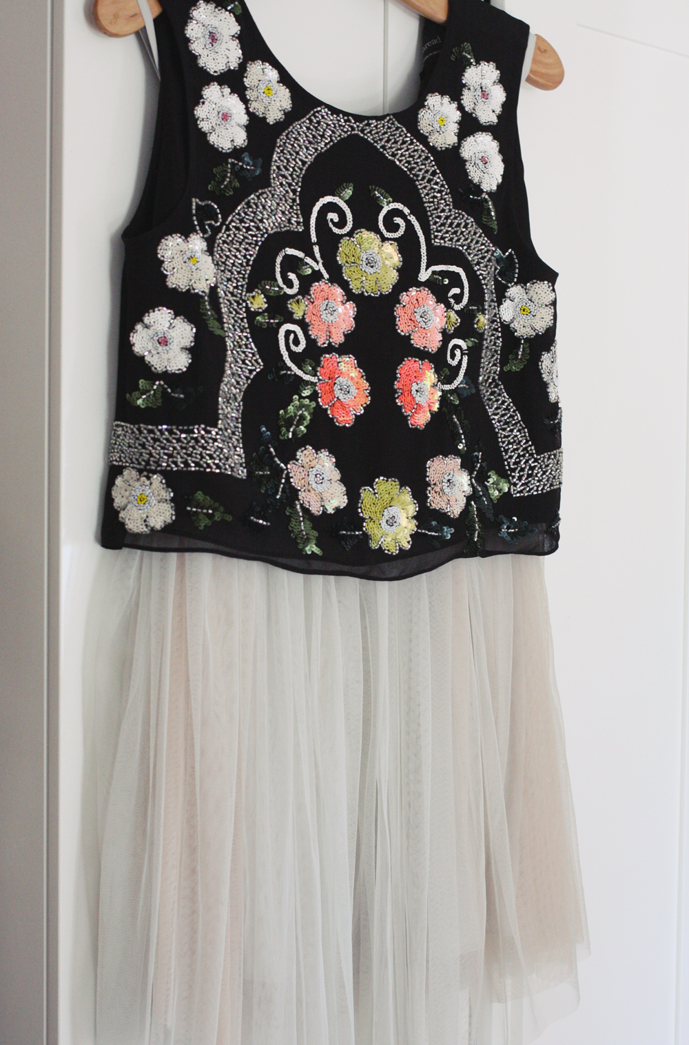 Skirt & Top: Both  Needle & Thread via ASOS
