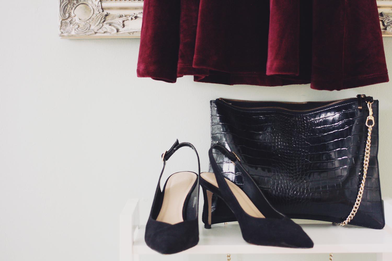 Shoes - ASOS (last season), Bag - Whistles Rivington Clutch