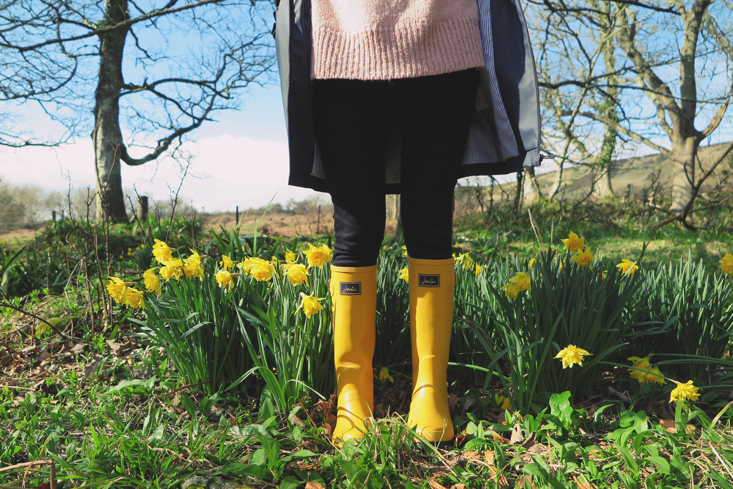 Photo by  Charlotte MacKay  | Wellies by  Joules