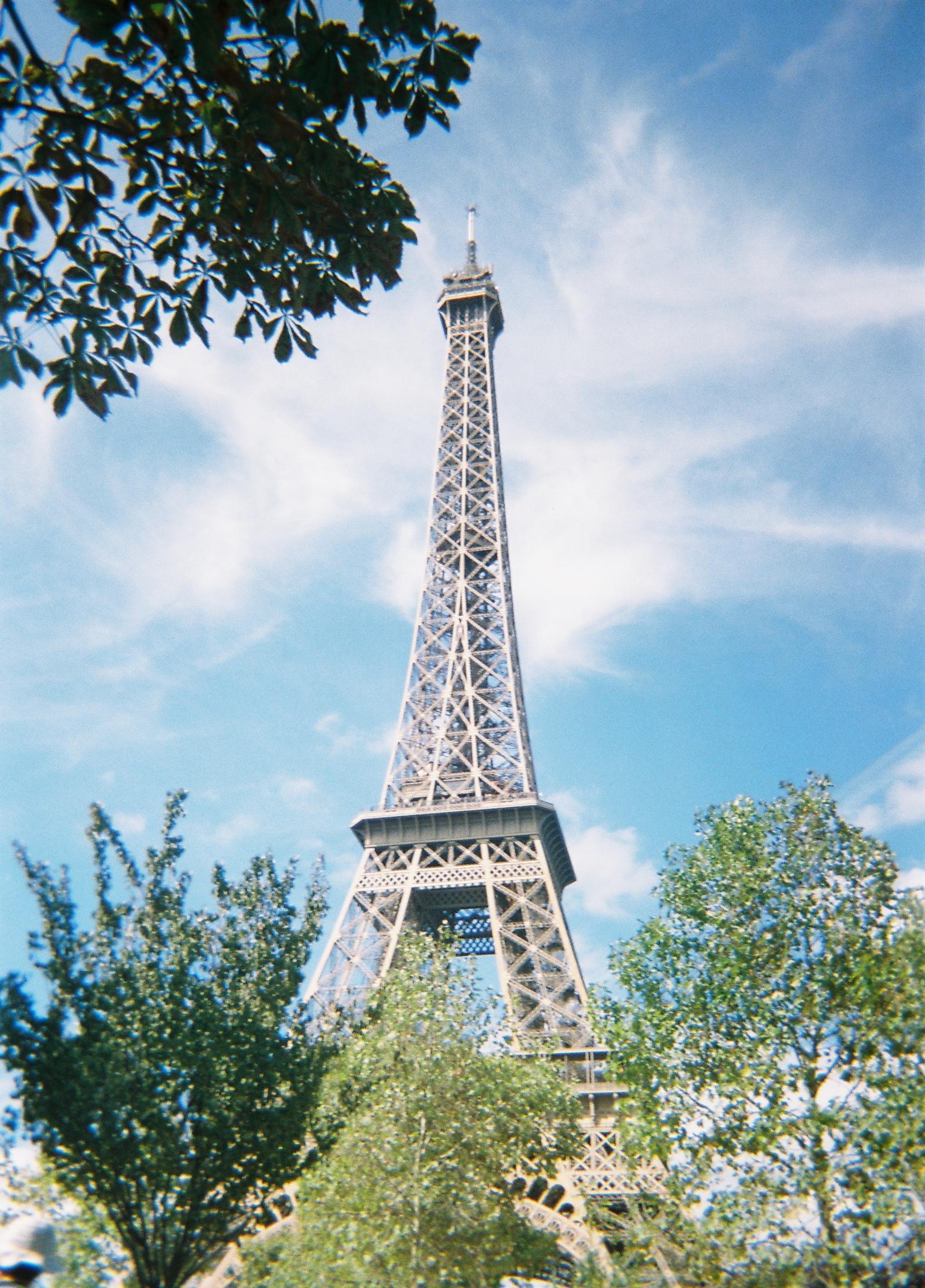 4th September - Eiffel Tower, Paris