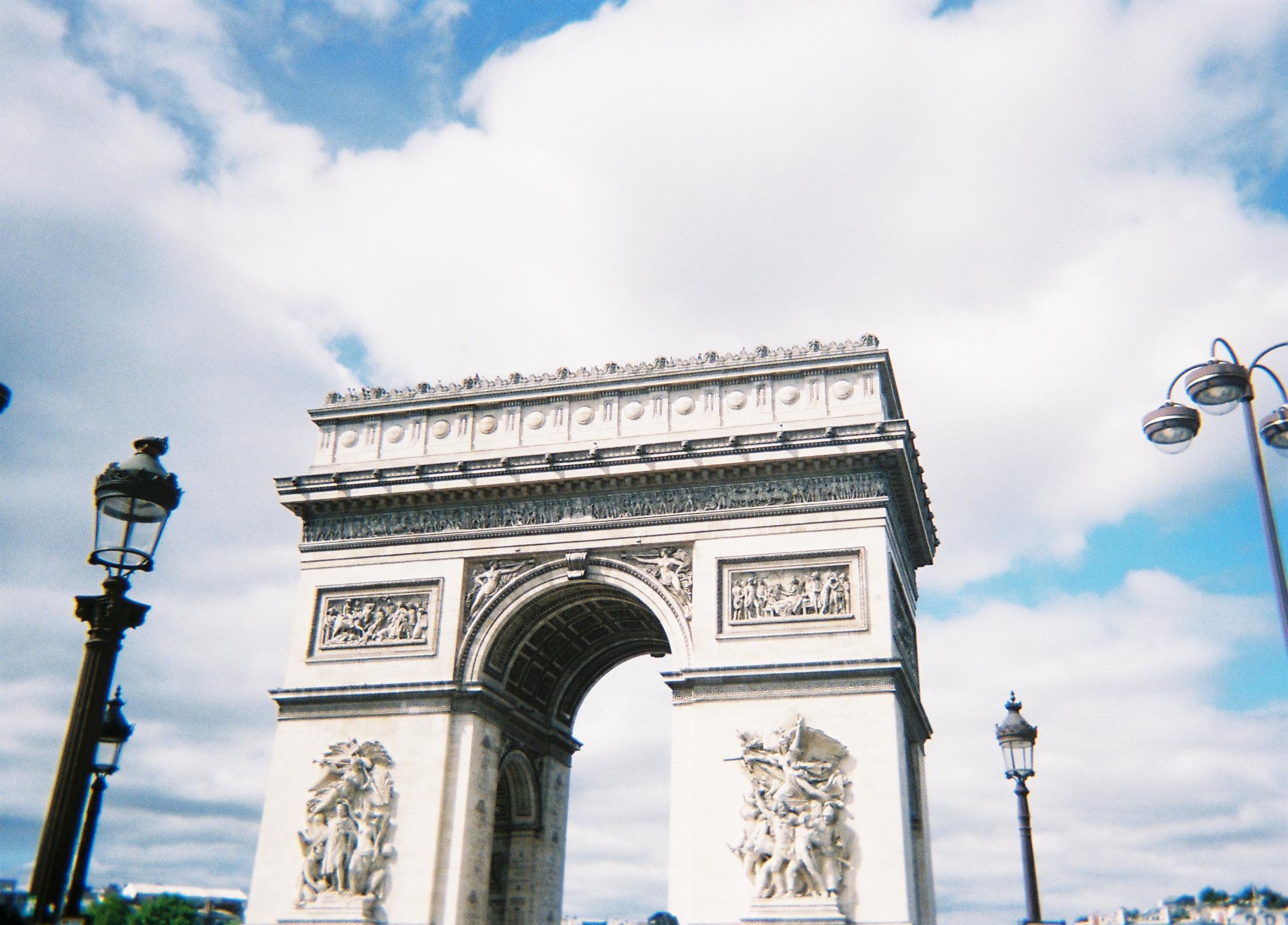 4th September - Arc De Triomphe, Paris