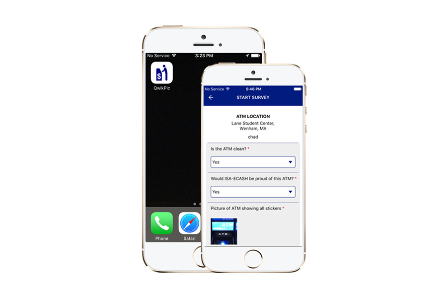 Qwikpic - Efficient, accurate ATM site condition tracking and reporting.