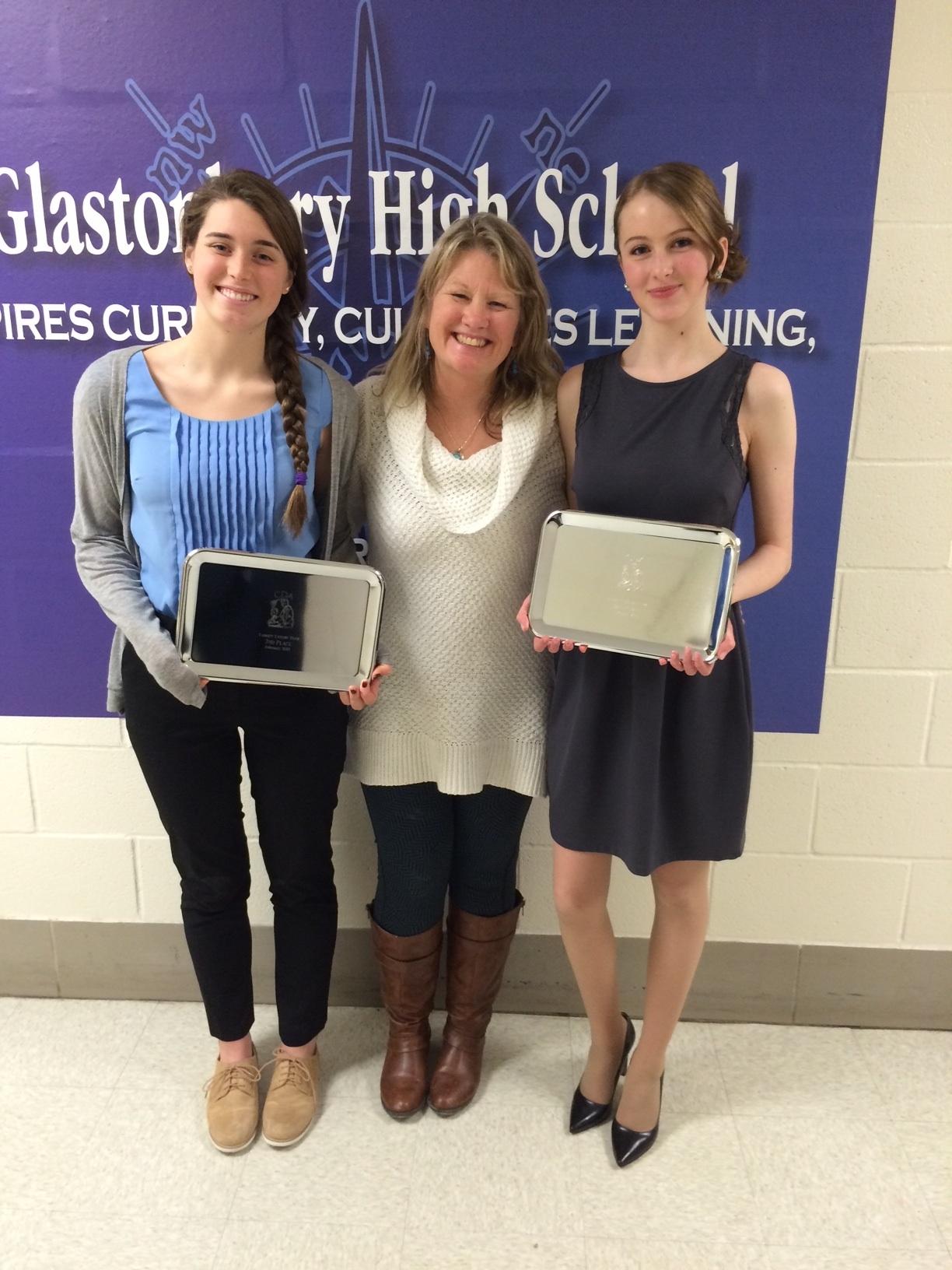 Ann with Award Winners