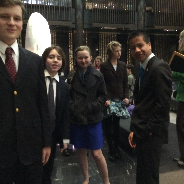 Aidan, Oliver, Piper, Marlah, & Benjamin