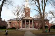 Who's debate team dared to beat Harvard's?