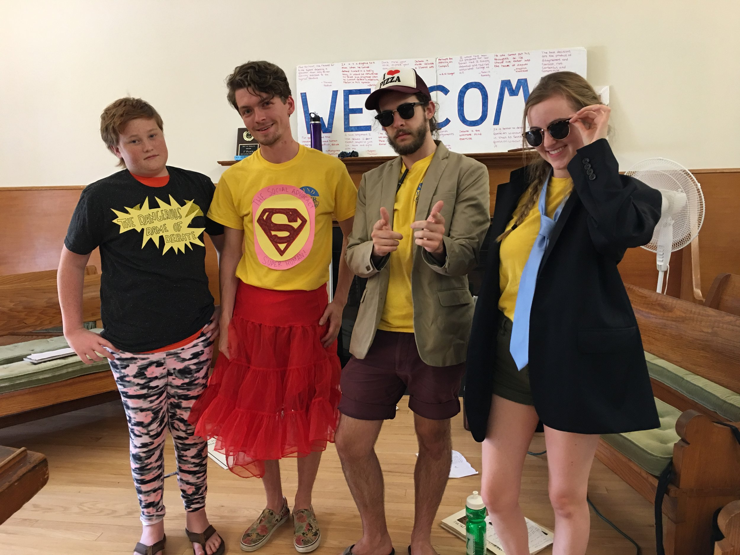 Day Camp in West Hartford, CT - (ages 8-18)Choose between Debate summer camp, Model United Nations summer camp, or mix it up; one week of Model UN and two weeks of Debate!WEEK 1 June 15-19WEEK 2 June 22-26WEEK 3 June 29- July 3