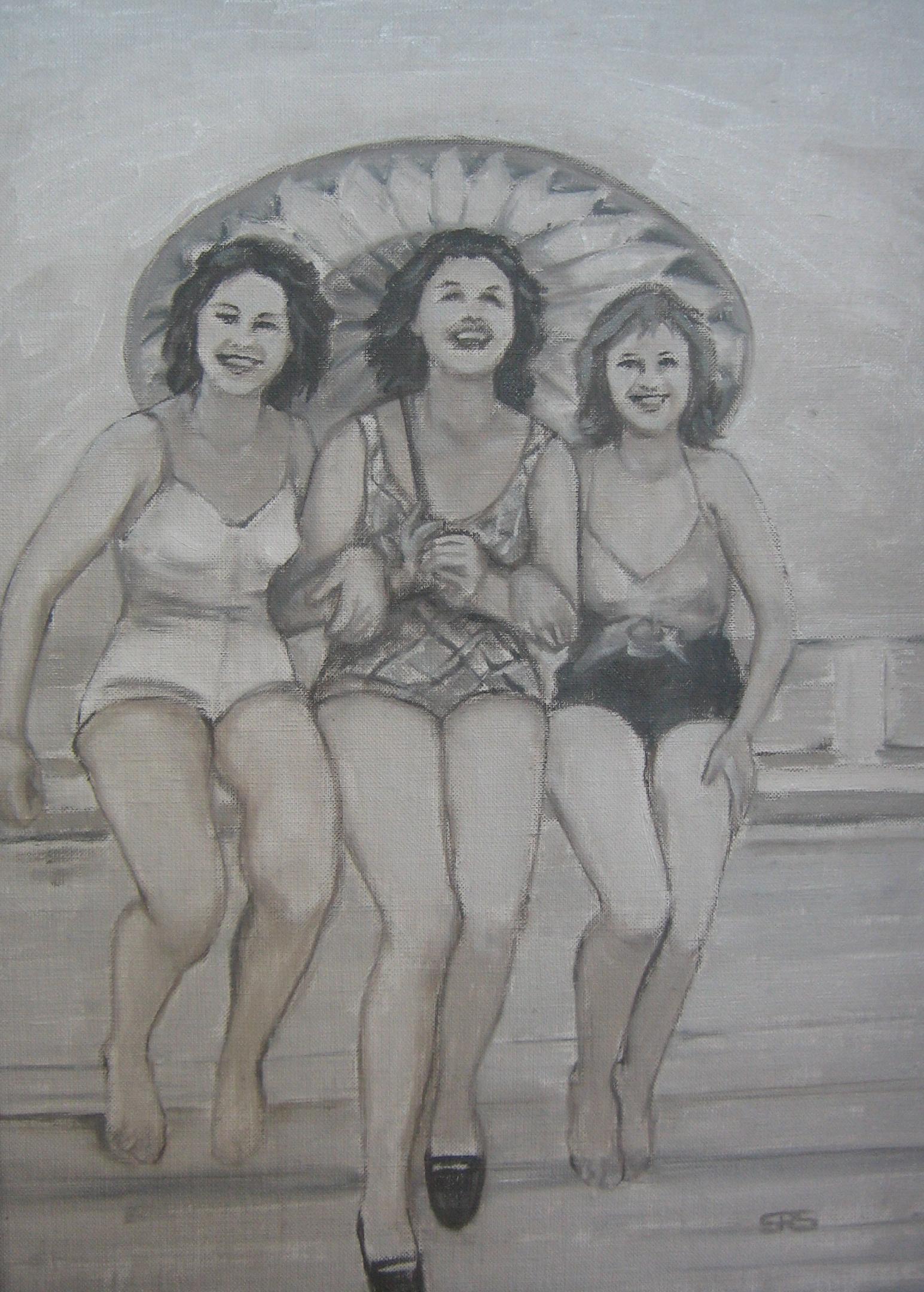 Ladies with Parasol
