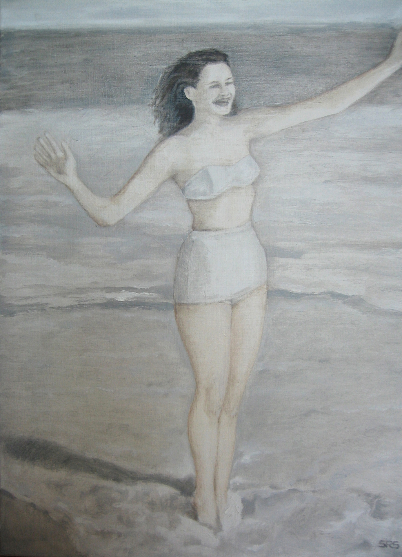 Lady at Water's Edge, 2015