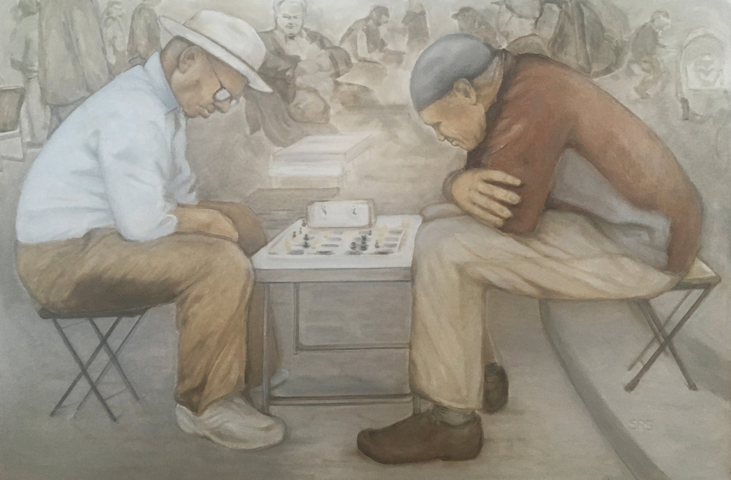 Chess in the Park, 2016